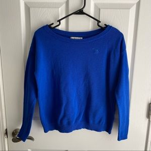 Abercrombie & Fitch Blue Sweater Size XS